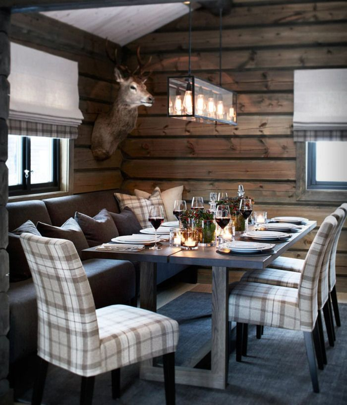 Idee Deco Interieur Cabane En Bois Luxe Photos Coconning Chalet Martine Haddouche