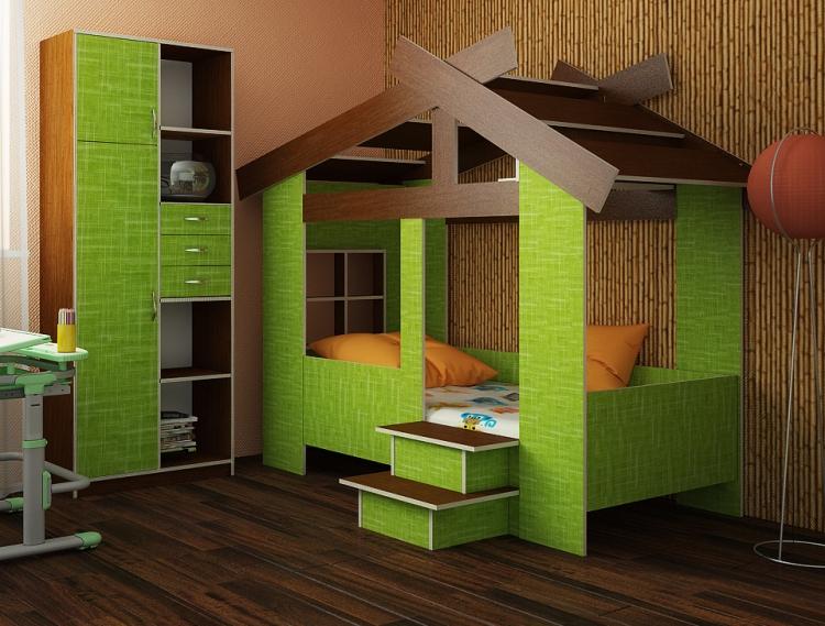 Idee Deco Interieur Cabane En Bois Meilleur De Collection Lit Cabane Enfant En 22 Idées Créatives