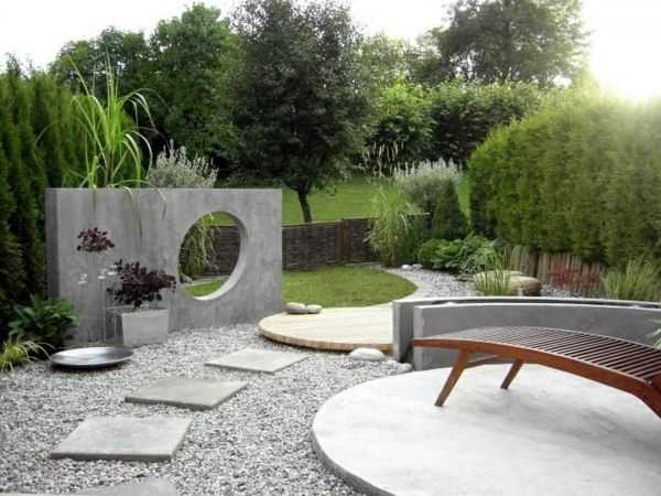 Idée Jardin Moderne Beau Stock Simple Idee Jardin Waterfountainguide