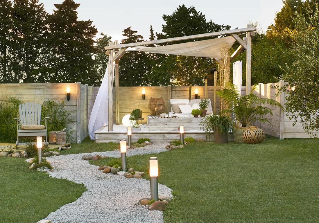 Idée Jardin Moderne Impressionnant Image Idée De Jardin original Inspirant tonnant Salon Blanc Et Bois