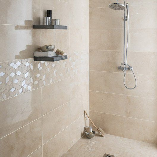 Idee Salle De Bain Beige Beau Photos Like the Small Floor Tiles and Big Wall Tiles for Shower but Not