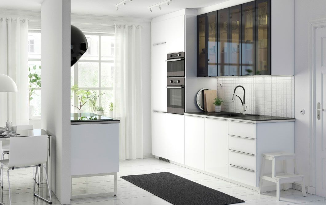 Ikea Cuisine Ringhult Unique Photographie A Modern White Metod Kitchen with Ringhult High Gloss White Fronts
