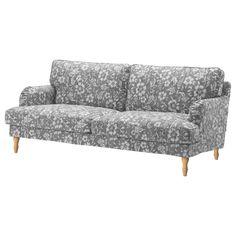 Ikea Housse Ektorp Frais Galerie Stocksund Armchair Nolhaga Gray Beige Black Wood