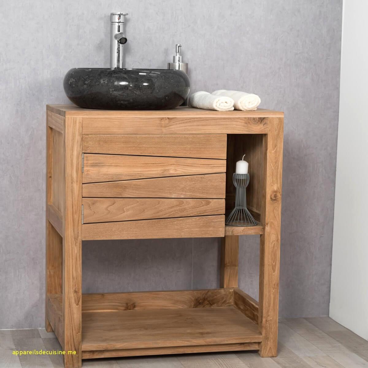 Ikea Vasque Salle De Bain Inspirant Photographie Meuble sous Vasque En Bois élégant Meuble En Teck Salle De Bain 35