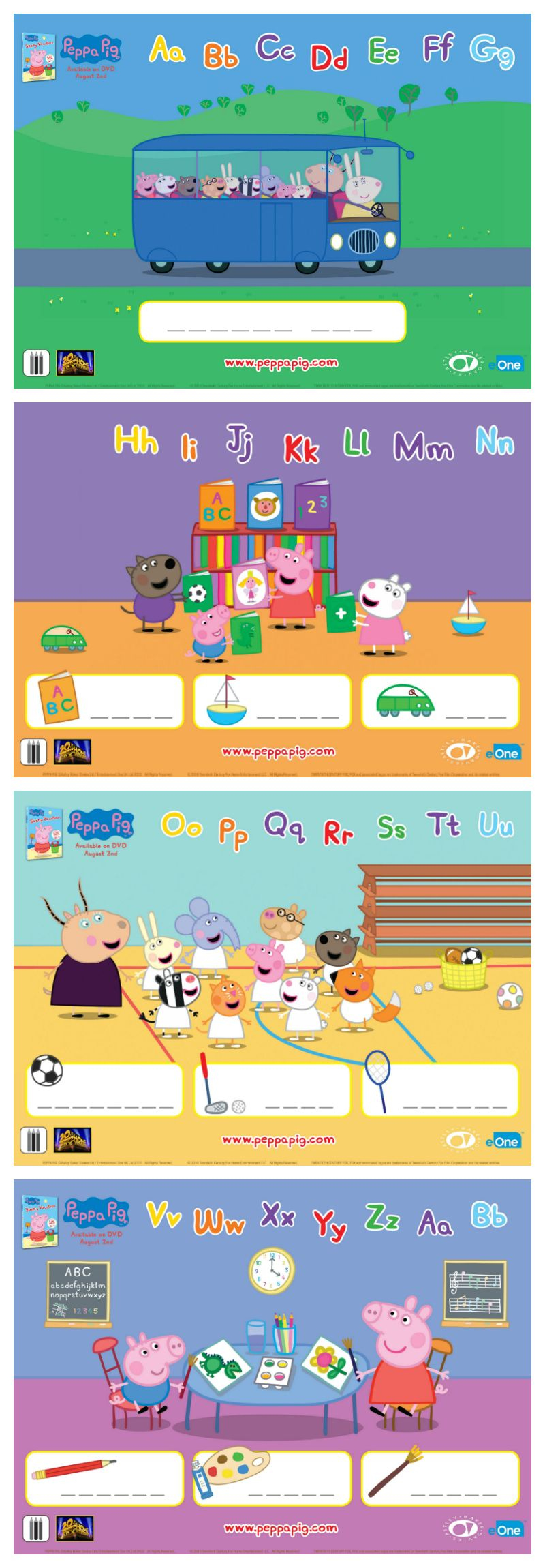 Image Peppa Pig A Imprimer Beau Collection Free Peppa Pig Printable Word Puzzles Peppa
