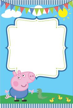 Image Peppa Pig A Imprimer Beau Photos Peppa Pig Free Printable Party Mini Kit