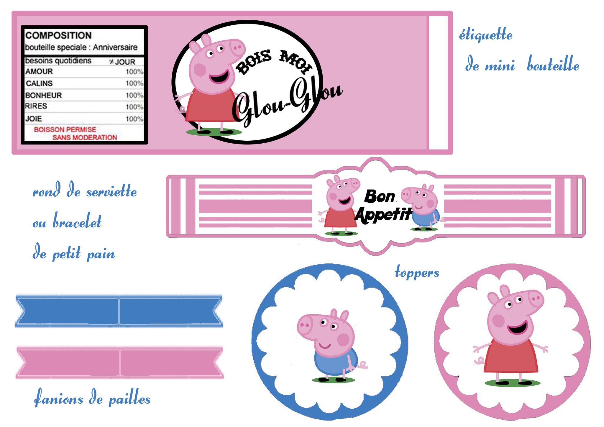 Image Peppa Pig A Imprimer Impressionnant Photographie Peppa Pig 1 Et 2 Et 3 Doudous Patrons Patterns Gabarits Fete