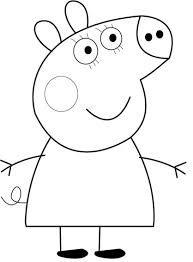 Image Peppa Pig A Imprimer Impressionnant Photos Les 88 Meilleures Images Du Tableau Coloriages Sur Pinterest