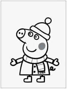 Image Peppa Pig A Imprimer Meilleur De Photographie Dibujos De Peppa Pig En Espa±ol Gratis Abrigo Colorear