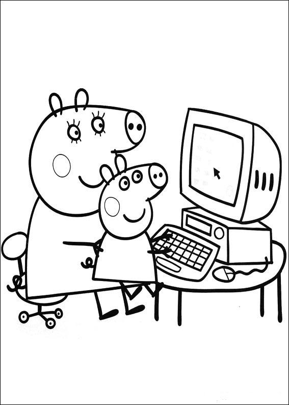 Image Peppa Pig A Imprimer Meilleur De Stock Tegninger Til Farvel¦gning Peppa Pig 6 Farvel¦gning