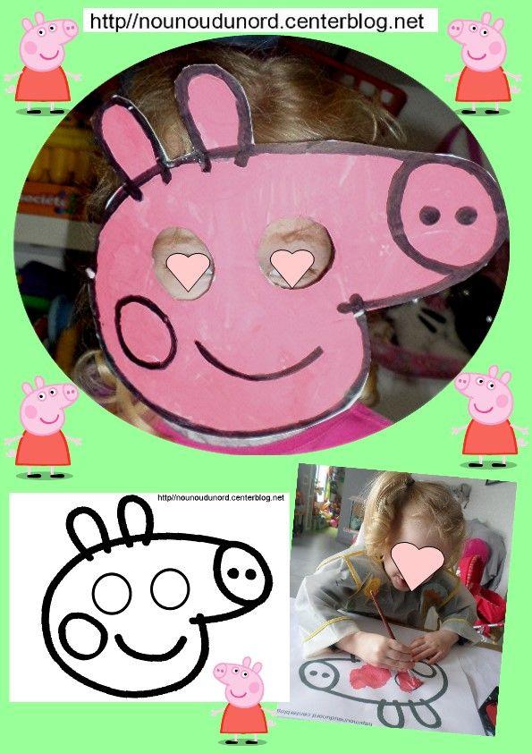Image Peppa Pig A Imprimer Nouveau Photos Mejores 221 Imágenes De Carnaval Mardi Gras Activités Manuelles