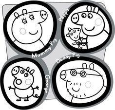 Image Peppa Pig A Imprimer Nouveau Photos Peppa Pig 1 Et 2 Et 3 Doudous Patrons Patterns Gabarits Fete