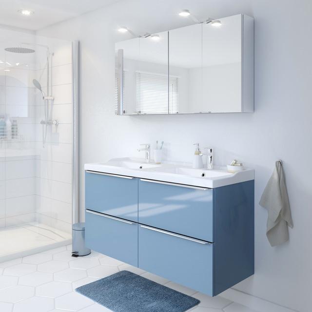 Imandra Salle De Bain Beau Stock Meuble sous Vasque Castorama élégant Meuble De Sdb Susp Bleu 120 Cm
