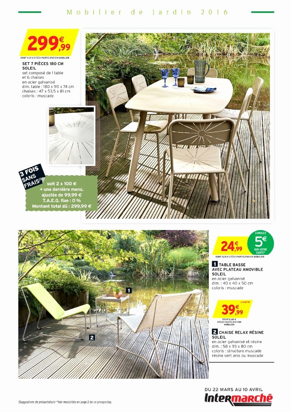 Intermarche Salon De Jardin Frais Photos 27 Best Salon De Jardin Repas Pinterest Ideas Incre­bles