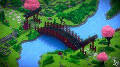 Jardin Japonais Minecraft Meilleur De Stock Les 37 Meilleures Images Du Tableau Voxel Art Sur Pinterest