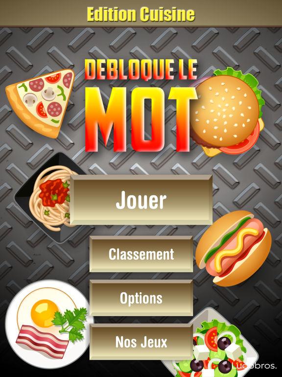 Jeux . Fr Cuisine Unique Image Débloque Le Mot Edition Cuisine Par Ludobros