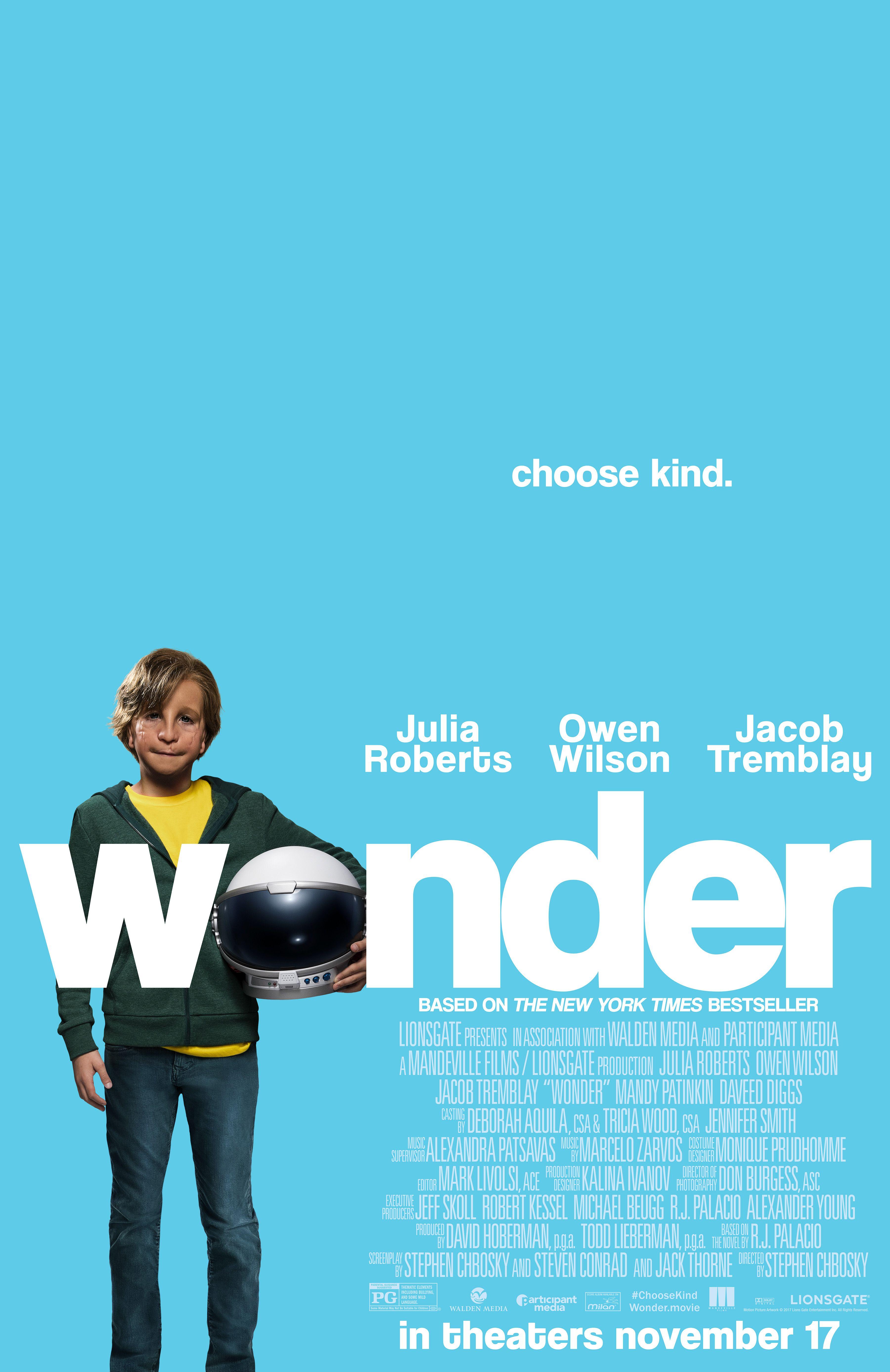 Jeux solitaire Gralon Meilleur De Images Wonder Starring Julia Roberts Owen Wilson & Jacob Tremblay