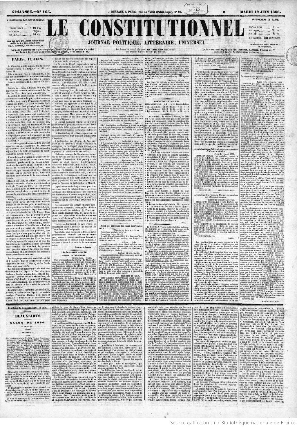 Jonc Inflexible De Fran Inspirant Photographie Le Constitutionnel Journal Du Merce Politique Et Littéraire
