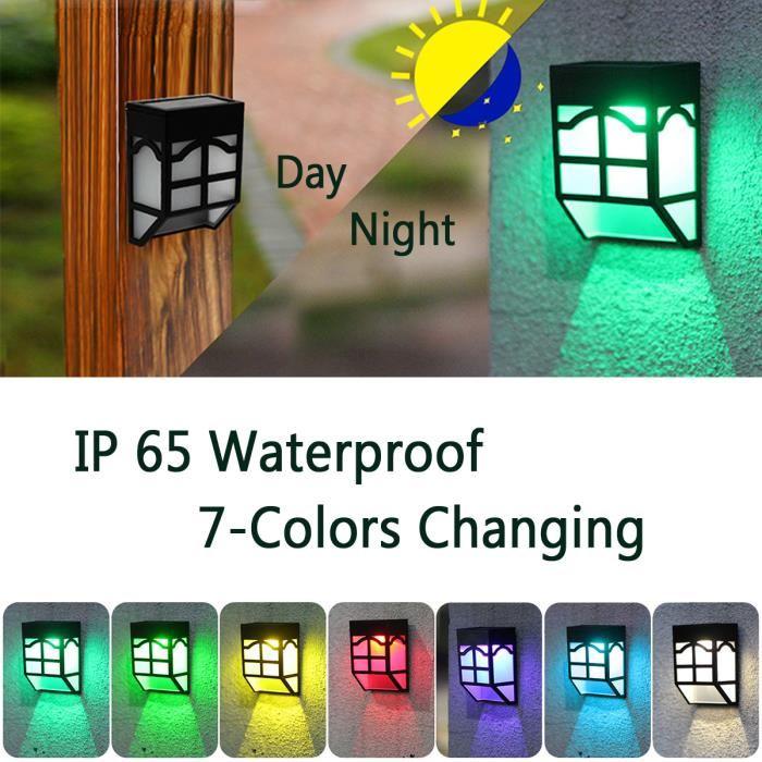 Lampe De Chevet solaire Élégant Photos Neufu solaire Lampe Led Applique Lanterne Jardin Extérieur Etanche