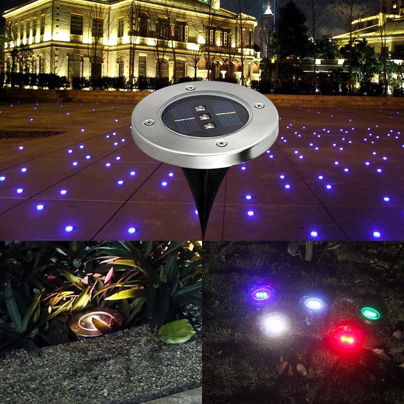 Lampe De Chevet solaire Impressionnant Photographie 5 Pcs Led Lampe solaire 3 Led Lumi¨re Pour Jardin Herbe Lumi¨re Led
