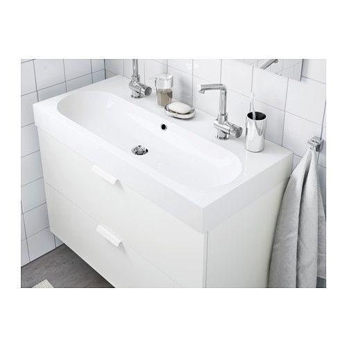 Lavabo Double Vasque Ikea Impressionnant Stock Br…viken Lavabo Blanc