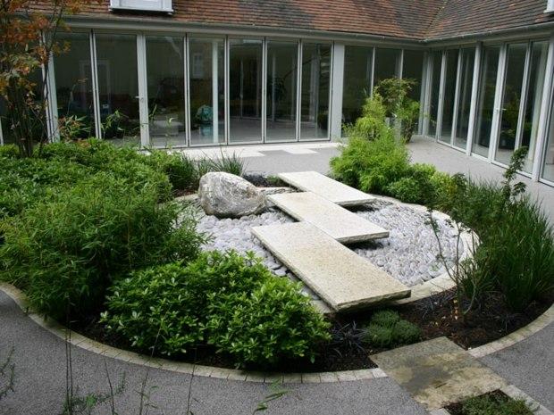 Le Jardin De Cheneland Beau Image Jardin Paysager Exemple Nanterre Maison Design Trivid