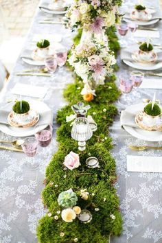 Le Jardin Secret Wantzenau Élégant Photos Beautiful Tea Party Centerpiece Tea Party Tea Cups