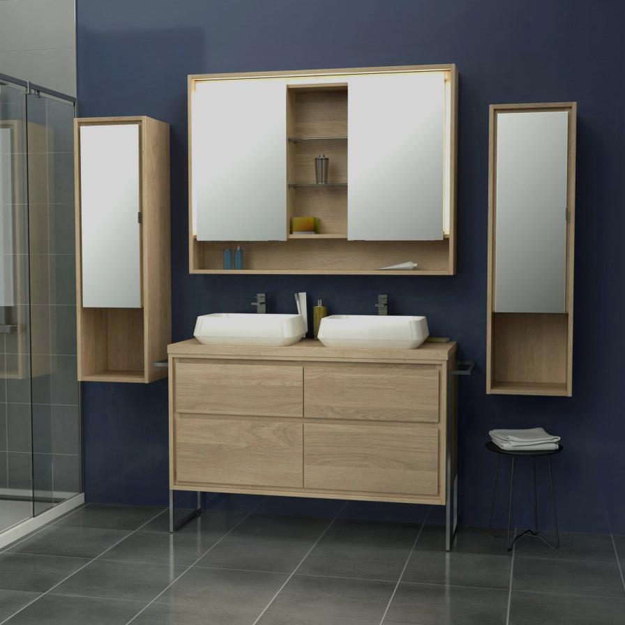 Leroy Merlin Armoire Salle De Bain Beau Stock Parfait 43 Concept Meuble Salle De Bain Vasque Le Plus Efficace