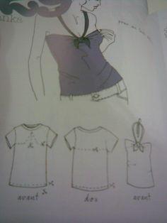 Les Fees Tisseuses Impressionnant Collection Les Fées Tisseuses Transformation De Tee Shirt En