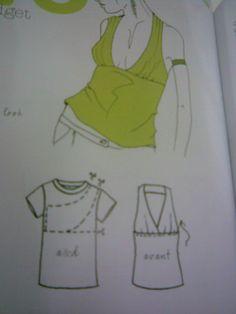 Les Fees Tisseuses Inspirant Image Les Fées Tisseuses Transformation De Tee Shirt En