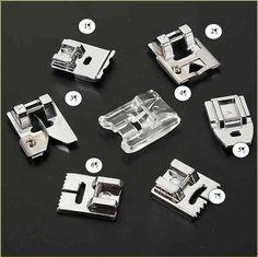 Les Fees Tisseuses Luxe Photos Pieds Presseurs De Machines  Coudre