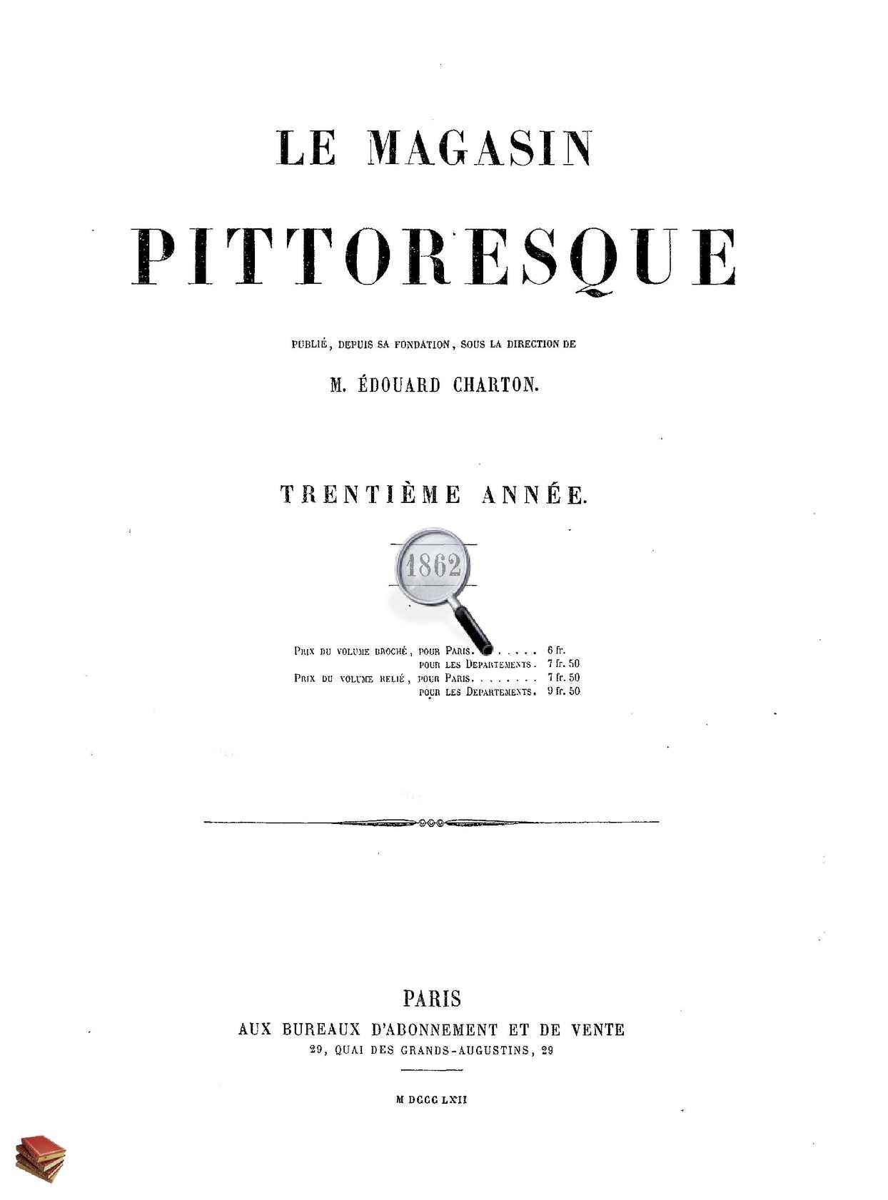 Les Serres De Gouaix Beau Photos Calaméo Le Magasin Pittoresque 1862