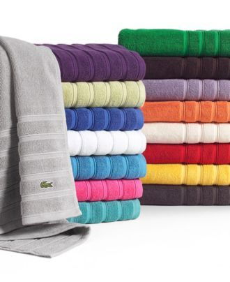 "Linvosges Tapis De Bain Élégant Photos Lacoste Bath towels Croc solid 30"" X 54"" Bath towel Bath towels"
