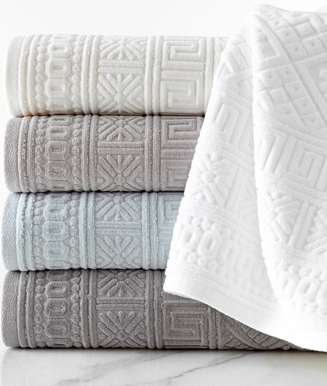 Linvosges Tapis De Bain Impressionnant Collection Anacapri Jacquard towel Collection towels Pinterest