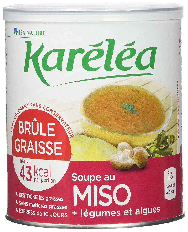 Livre La Cuisine Bruleuse De Graisse Élégant Collection Karéléa soupe Coupe Faim Au Konjac Et Légumes Pot De 300g Lot De 2