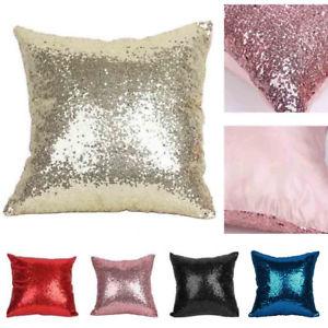 Ma Housse Deco Beau Collection Housse De Coussin Paillettes Taie oreiller Canapé Maison Cushion