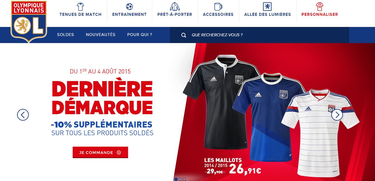 Magasin Adidas Plan De Campagne Nouveau Photos La Boutique En Ligne De L Olympique Lyonnais Fait Peau Neuve Avec L