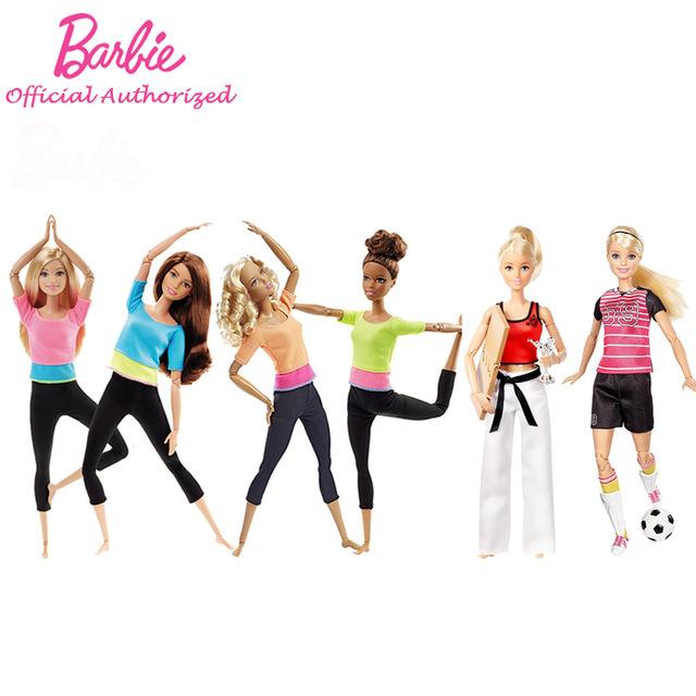 Marque De Jouet Liste Élégant Galerie Barbie Autoriser Marque 7 Style De Mode Poupées De Yoga Mod¨le Jouet