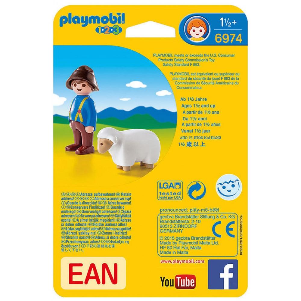Marque De Jouet Liste Élégant Photos Playmobil 6974 Gar N Avec Mouton Cultura