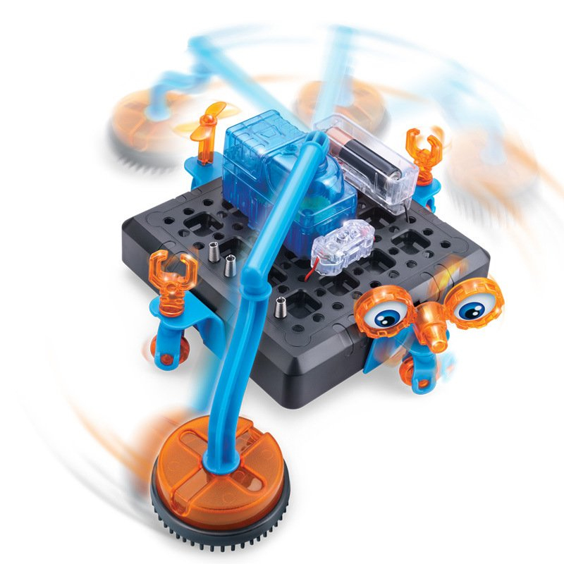 Marque De Jouet Liste Frais Image Connex Espace Nettoyage Robot Science Mod¨le Experiment Jouet
