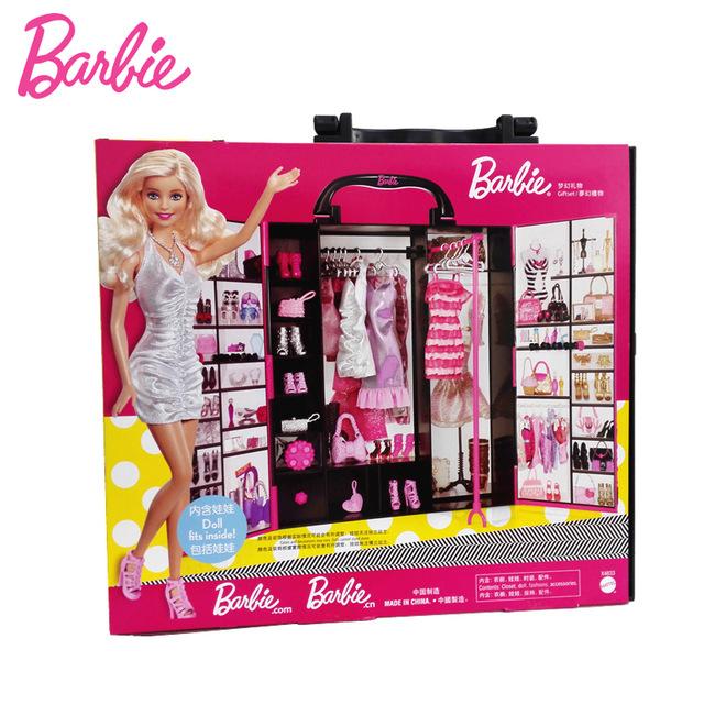 Marque De Jouet Liste Frais Photos Barbie originale Marque Dr´le Rªve Armoire Vªtements Accessoires