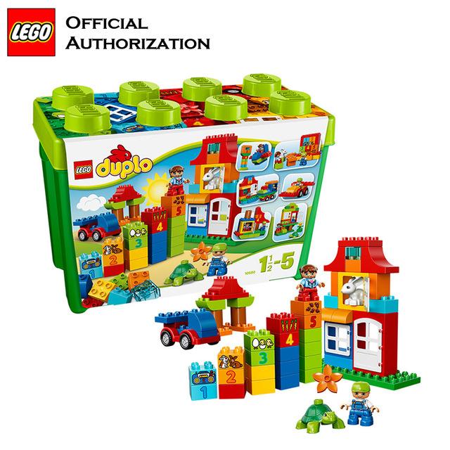 Marque De Jouet Liste Luxe Photographie D origine Marque Duplo Lego Grande Taille 95 Pcs Blocs De