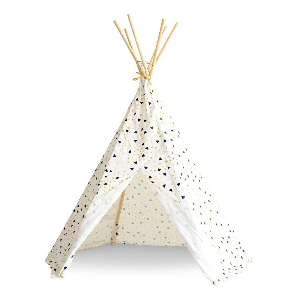 Marque De Jouet Liste Meilleur De Image Nobodinoz Tipi Arizona Triangles Noir Jaune Product