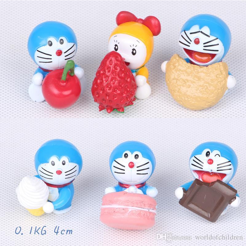 Marque De Jouet Liste Unique Photographie Acheter Mignon Doraemon Mini Figure Jouets Ensemble Plet