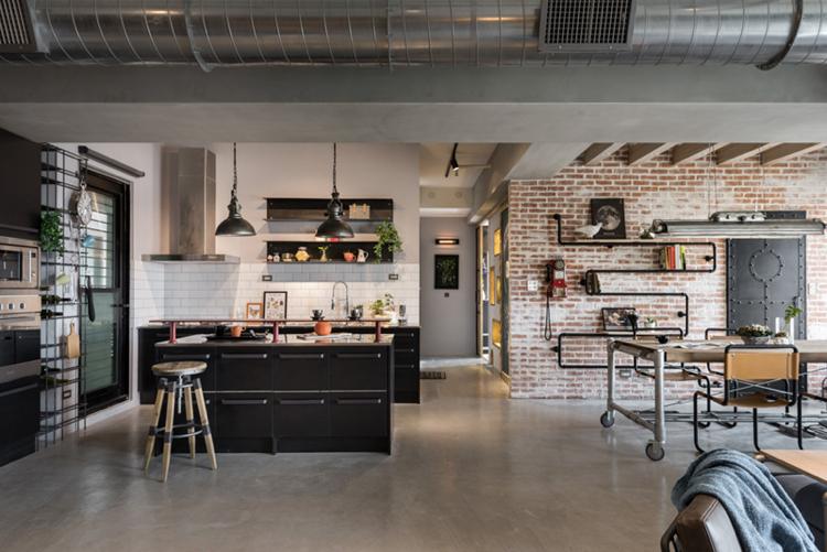 Meteo Ciel Metz Inspirant Stock Cuisine Style Usine Cheap Un Mini Loft Au Look Industriel Et Color