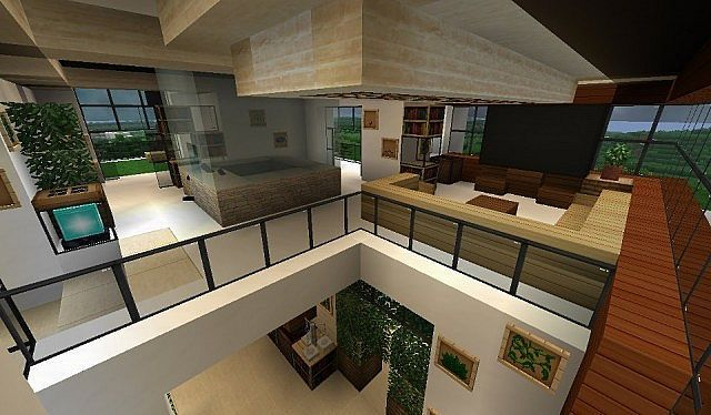 Meuble Moderne Minecraft Beau Photographie Modern House Minecraft Project Minecraft Pinterest