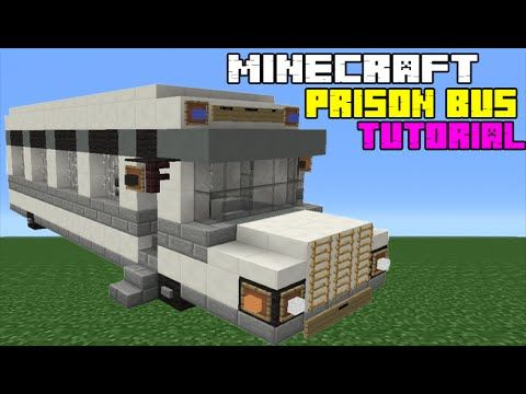 Meuble Moderne Minecraft Élégant Stock Minecraft Tutorial How to Make A Prison Transport Bus