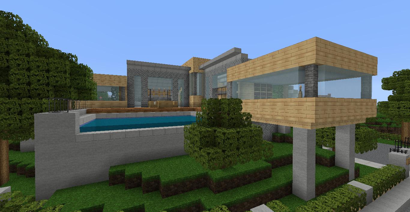 Meuble Moderne Minecraft Impressionnant Photos Maison Minecraft En Bois Frais Tuto Maison Moderne Ophrey Tuto
