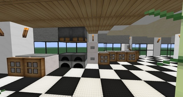 Meuble Moderne Minecraft Inspirant Photos Cuisine Jaune Moderne