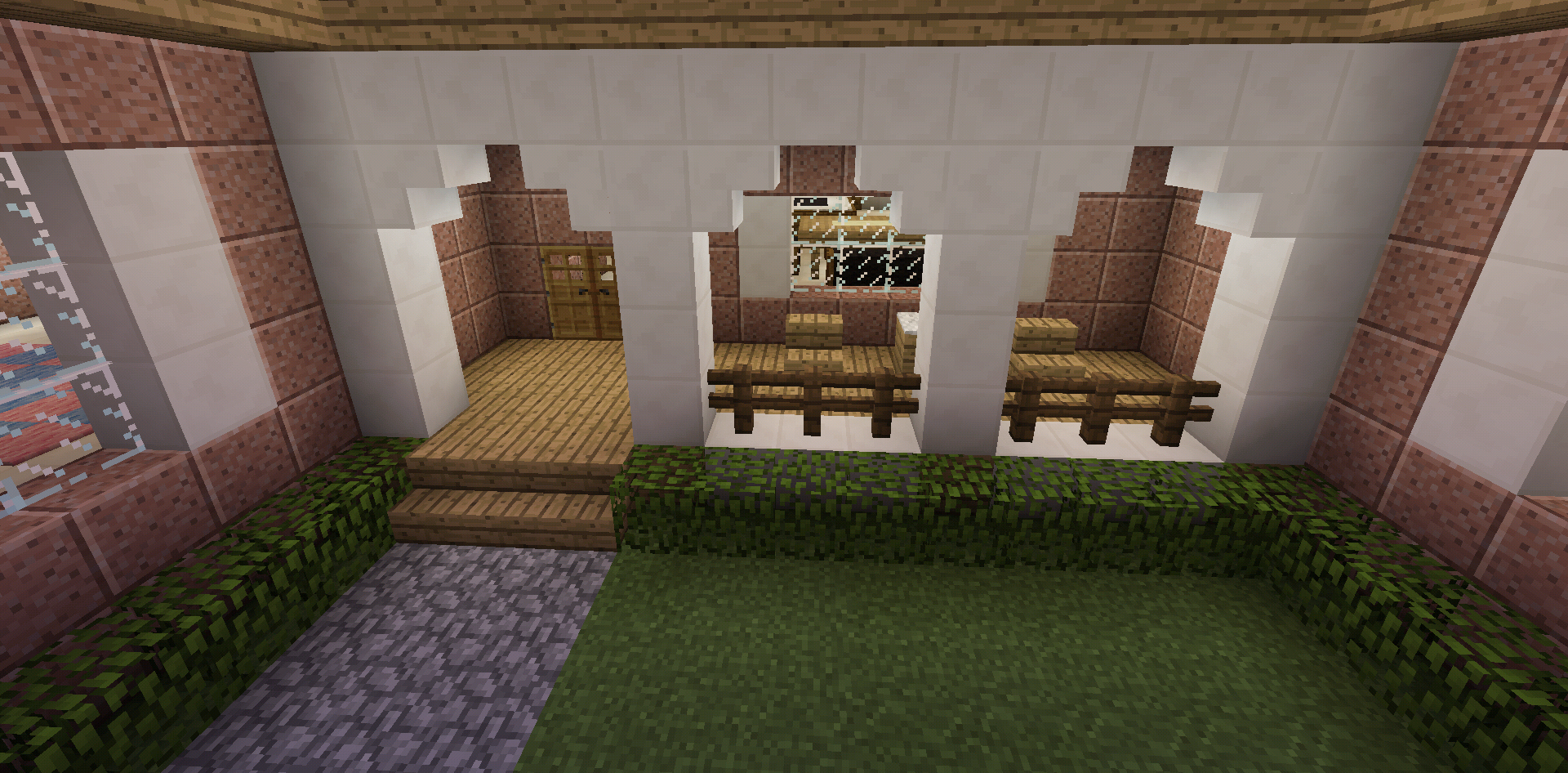 Meuble Moderne Minecraft Unique Photos Minecraft House Front Porch with Furniture Minecraft